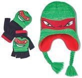 Avon Living Teenage Mutant Ninja Turtles Raphael Knit Hat and Glove Set