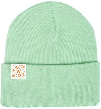 Woolish Iki Merino Wool Beanie - Mint Green