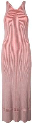 Proenza Schouler White Label Sleeveless Rib Knit Long Dress