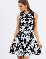 Karen Millen Floral Jacquard Knit Dress