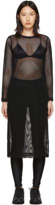 Comme des Garcons Black Mesh Dress