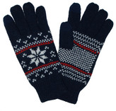 Sayami Flake Print Knit Gloves
