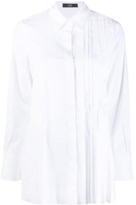 Steffen Schraut Pleated Panel Loose-Fit Shirt