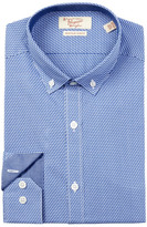 Original Penguin Zigzag Slim Fit Dress Shirt