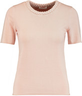 See by Chloe Braided cotton T-shirt