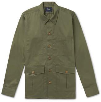 Drakes Drake's Cotton-Twill Shirt Jacket
