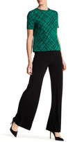 Anne Klein Foldover Wide Leg Stretch Pant