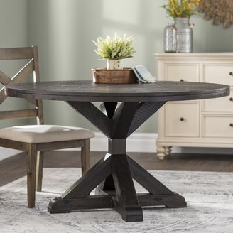 Laurèl Colborne Solid Wood Dining Table Foundry Modern Farmhouse