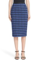Marc Jacobs Women's Geometric Tweed Pencil Skirt