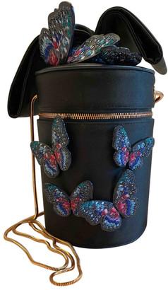 Sophia Webster Black Silk Clutch bags