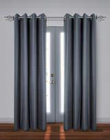 Home Studio Set of Two Stripe Black Out Drape Panels