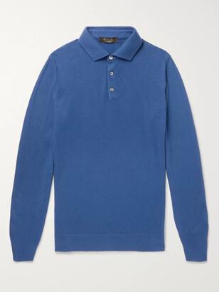 Loro Piana Slim-Fit Baby Cashmere Polo Shirt