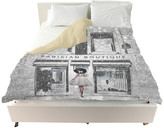 "Oliver Gal The Artist Co. Parisian Boutique"" Duvet Cover, King"
