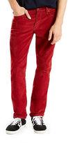 Levi'S 511 Slim Fit Corduroy Pants Sun-Dried Tomato