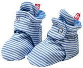 Zutano Candy Stripe Booties (Baby) - Periwinkle - 18 Months