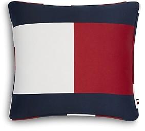 Tommy Hilfiger Flag Decorative Pillow, 18 x 18