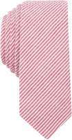 Original Penguin Men's Bergn Seersucker Stripe Skinny Tie