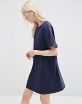 Asos Casual Oversize T-shirt Dress with Pocket