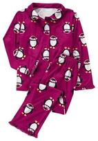 Gymboree Penguin Pajama Set
