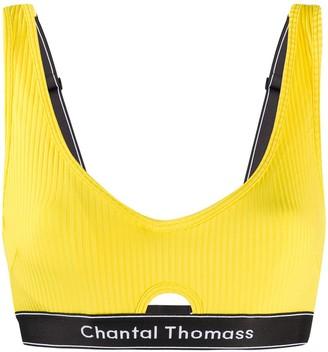Chantal Thomass Honore logo bra