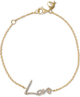 Stephen Webster + Tracey Emin Love 18-karat Gold Diamond Bracelet - one size