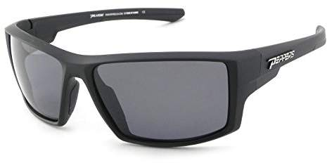 Pepper's Unisex-Adult Downforce MP5738-1 Polarized Oval Sunglasses