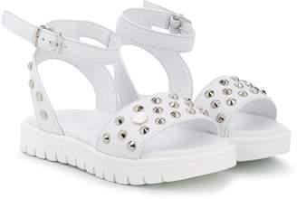 Philipp Plein Studded Ankle Strap Sandals