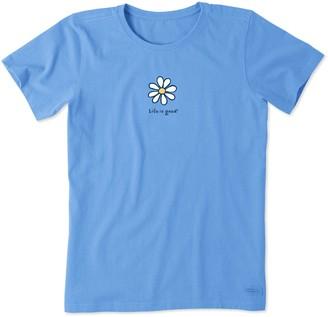 Life is Good Daisy Crusher T-Shirt