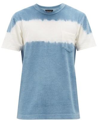 Howlin' Fons Cotton-blend Terry T-shirt - Mens - Blue Multi