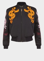 Versace Embroidered Baroque Blouson