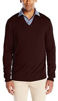 Perry Ellis Men's Solid V-Neck Sweater