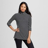 Women's Long Sleeve Turtleneck Tee - Mossimo