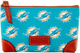 Dooney & Bourke NFL Dolphins Cosmetic Case