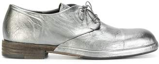 Del Carlo metallic lace-up shoes