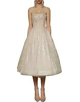 Bronx & Banco Mademoiselle Bridal Midi Dress