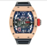 Richard Mille RM030 18K Rose Gold 42mm Mens Watch
