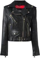 Diesel belted biker jacket