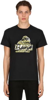 XLarge X Large Camo Og Printed Cotton Jersey T-shirt