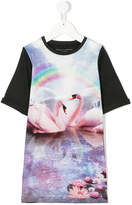 Stella McCartney swans print T-shirt