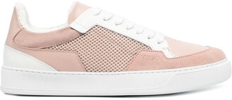HUGO BOSS Mesh-Panel Low-Top Sneakers
