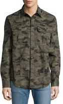 Hudson Infantry Camo Utility Shirt, Green