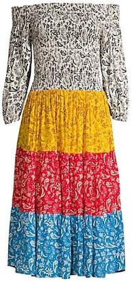 Cool Change Joni Off-The-Shoulder Dress