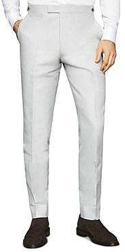 Reiss Well Melange Slim Fit Suit Pants