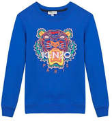 Kenzo 8-12Y Tiger Logo Sweatshirt