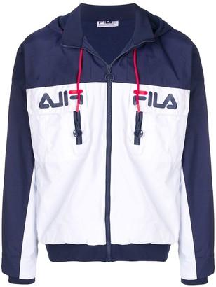 Fila logo zip-up jacket