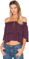 Flynn Skye Athens Top in Purple. - size L (also in )