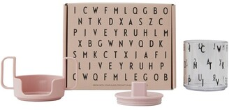 Design Letters Grow With Your Glass Tritan Gift Set - Nude