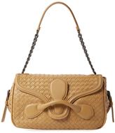 Bottega Veneta Rialto Intrecciato Leather Shoulder Bag