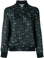 Hache floral bomber jacket - women - Cotton/Polyester/Spandex/Elastane/Viscose - 38
