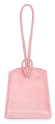 Little Liffner Women's Loop Lizard-Embossed Leather Top Handle Bag